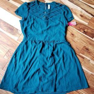 Dress New blue/green colors